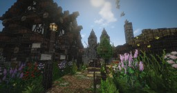 Drogoria, the city of Darkness. Minecraft Map & Project
