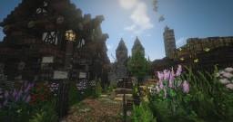 Drogoria, the city of Darkness. Minecraft Project