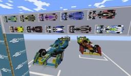 Formula E Model : Spark-Renault SRT_01E '14 (liveries of all 10 teams) (+3 liveries) Minecraft Map & Project