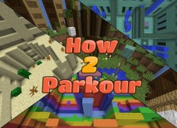 How2Parkour - Parkour Map [1.8+] Minecraft Map & Project