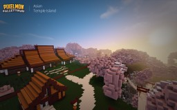 Pallet Town - Asian Temple Island Minecraft Map & Project