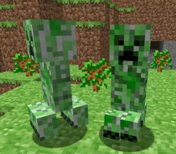 how creepers became Minecraft