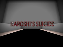 Karoshi's Suicide (A Minecraft Puzzle Map!) Minecraft Project