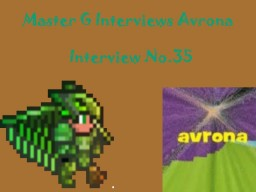 Master G Interviews Avrona Minecraft