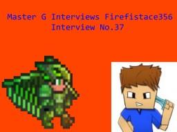 Master G Interviews Firefistace356 Minecraft Blog Post