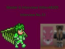 Master G Interviews Kitten48205 Minecraft Blog Post