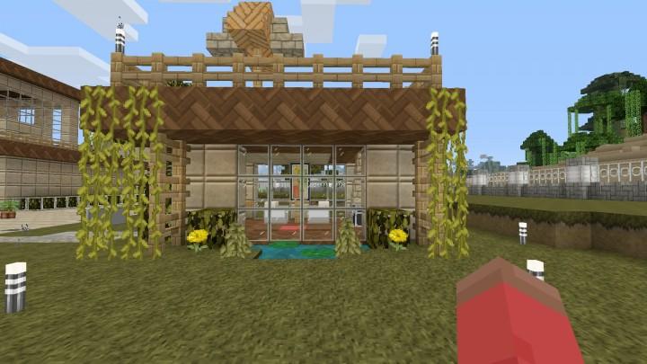 Modern Style Lake House Minecraft Project