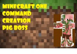 Pig Boss Minecraft Map & Project