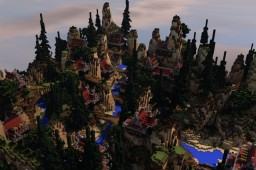 Oriental Pixelmon Map - 200x200 Minecraft Map & Project