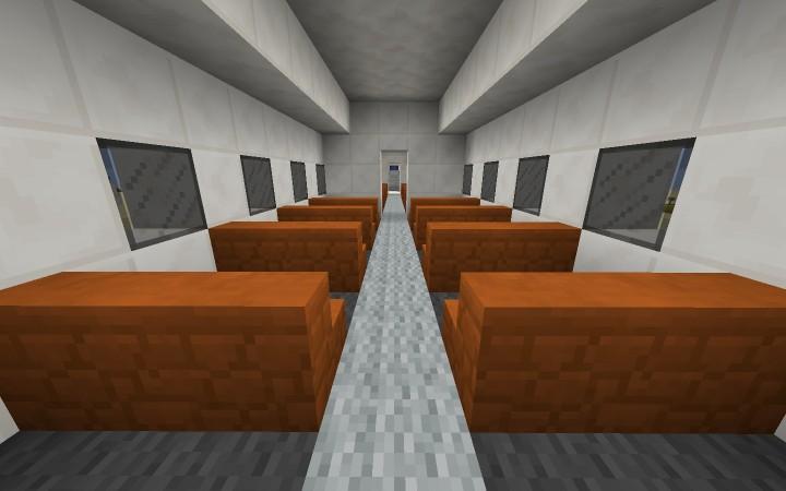 Plane Interior Design