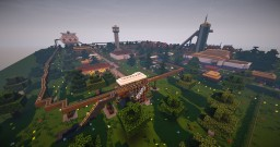Rollercoaster playing park with redstone - Minecraft 1.7.2+