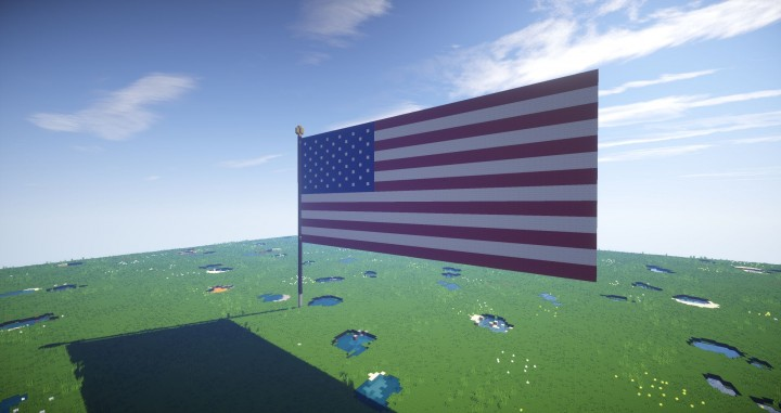 usa flag from the site