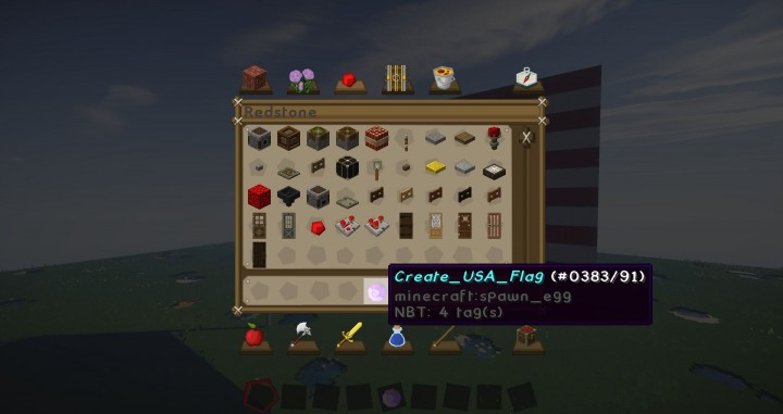 spawn egg for the usa flag