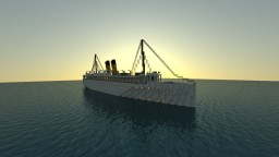 SS Eastland - 100th Anniversary - (Exterior only) - 2:1 scale Minecraft Map & Project