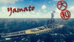 IJN Yamato [2:1 scale] Minecraft Map & Project