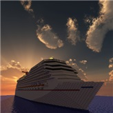 Carnival Valor [1:1 Scale Exterior only] Minecraft Map & Project