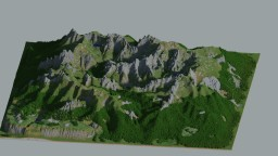 Beautiful Mountains (20pictures!)  (no paths and  structures) Minecraft Project