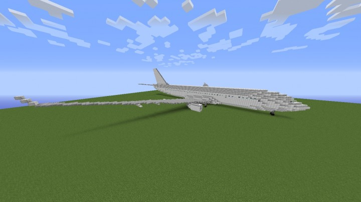 Airbus A330-300 w/ liveries Minecraft Project