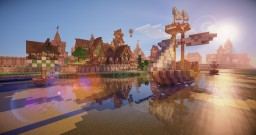 Portus Medieval city Minecraft