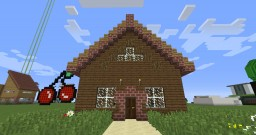 How to build a cool house! Minecraft Map & Project