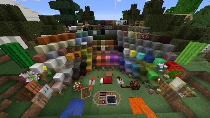 8x8 Minecraft Texture Pack Mariamartin189v