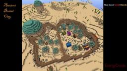 Ancient Desert City Minecraft Project