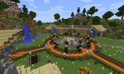 Small professional hub server spawn w/ Download Minecraft
