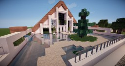 A - Frame House Minecraft Map & Project