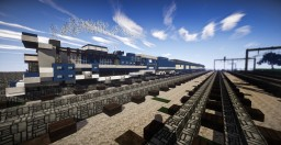The Blue Comet (Steam train) Minecraft Map & Project