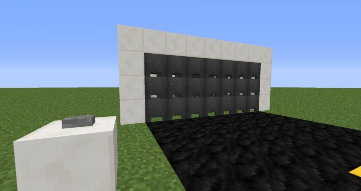 Garage Door System Minecraft Project
