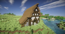 Re-Visited Medieval Barn Minecraft Map & Project