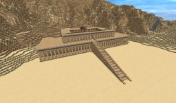Temple of Hatshepsut Deir El Bahri (Valley of the Kings) Minecraft