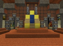 The_Stone_Mason's big castle & walled city Minecraft