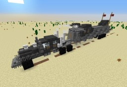 MAD MAX - FURY ROAD - WAR RIG Minecraft Map & Project