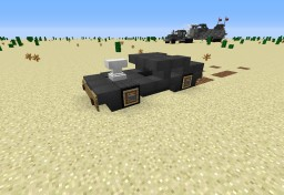 MAD MAX - FURY ROAD - V8 INTERCEPTOR Minecraft Map & Project