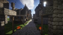 City of Storm's Break Minecraft Map & Project