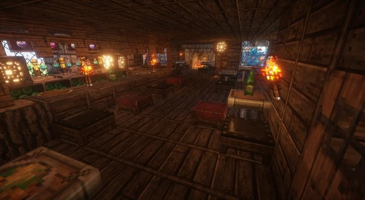 Tavern Downstairs interior