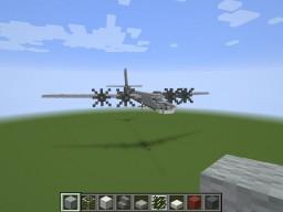 Tupolev Tu-95 Bear Minecraft Project