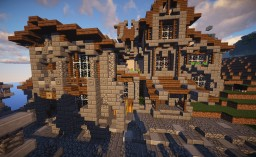 Central City, Costal Area Minecraft Map & Project