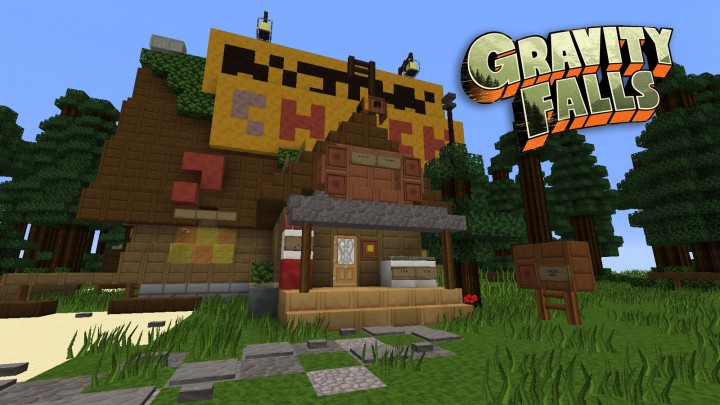 Gravity Falls in Minecraft
