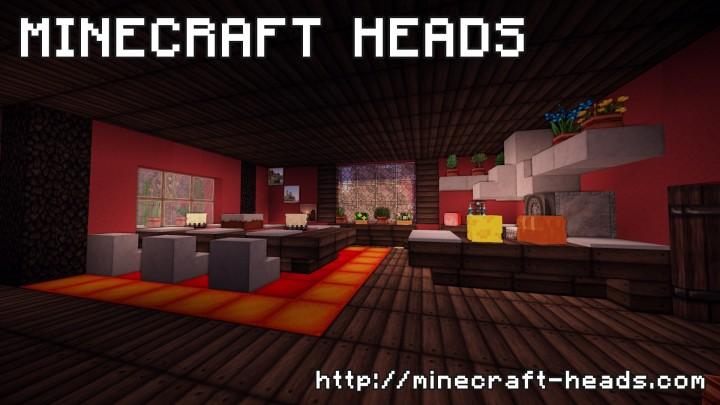 Minecraft decoration heads database 1000 heads minecraft mod - Minecraft head decoration ...