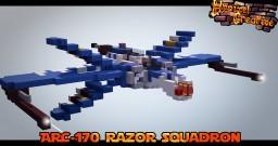 Arc -170 Razor Squadron - ImperiumMC Minecraft Project