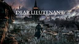 Dear Lieutenant Minecraft