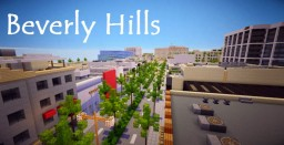 Minecraft map - Beverly Hills Minecraft Map & Project