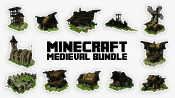 LemonFox's Medieval Bundle 2.0 + [Download] Minecraft Map & Project