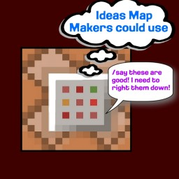 Ideas Map Makers Could Use