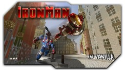 Iron Man powers in Vanilla w/only1CMD Minecraft Map & Project