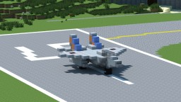 F-15 Minecraft Map & Project