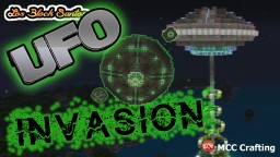UFO ALIEN INVASION LBS CITY PS3/PS4/CONSOLE Minecraft Map & Project