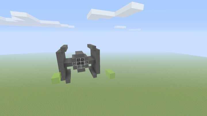 Minecraft X Wing Build